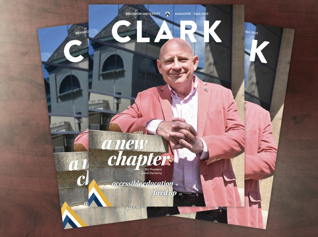 Cover of the Fall 2019 issue of Clark Magazine