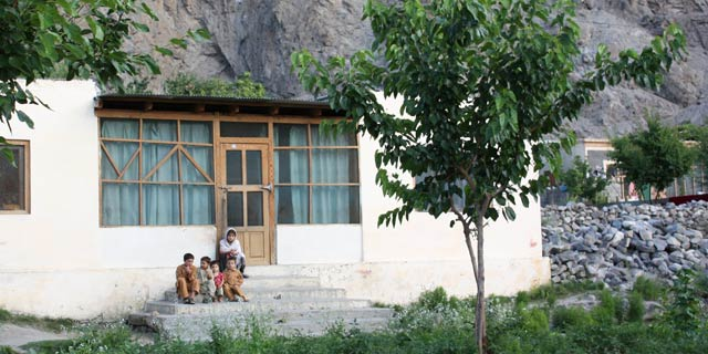 Traditional home in rural northern Pakistan.