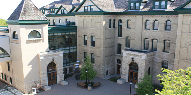 Clark Hall, home of the Faculty of Arts