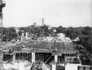 Brodie Building under construction