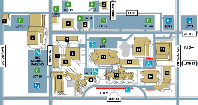 Campus Map Brandon University