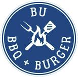 BU BBQ Burger Logo