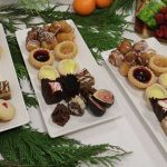 A sample of desserts supplied by BU Catering services.