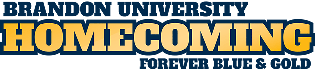Brandon University Homecoming Forever Blue and Gold