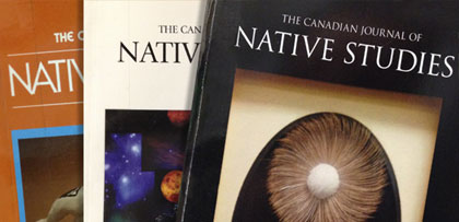 Canadian Journal of Native Studies
