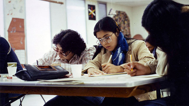 PENT students in the 1970s