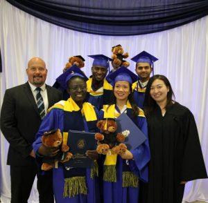 2017 International Student Graduates
