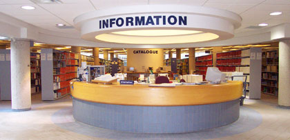 Library Information Desk