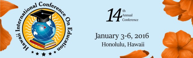 2016 Hawaii Ed Conference