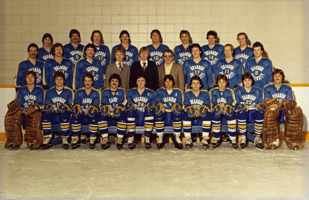 Mike Johnston captained and Andy Murray coached the 1979-80 Brandon University Bobcats.