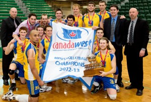 BobCats Win Canada West Volleyball
