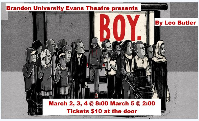 Promotional poster for Boy