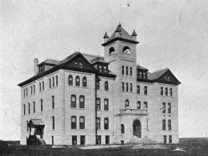 Brandon College, 1901 (photo credit William Martel, Lawrence Stuckey Collection, S.J McKee Archives)