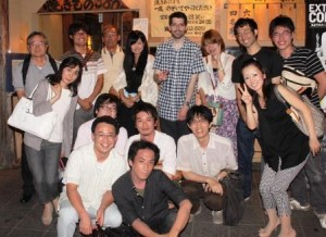 Dr. Martin Lemaire with Japanese associates (web)