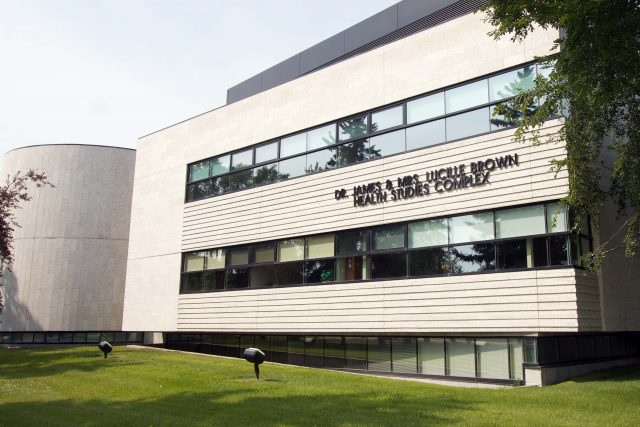 Photo of a the Health Studies Complex
