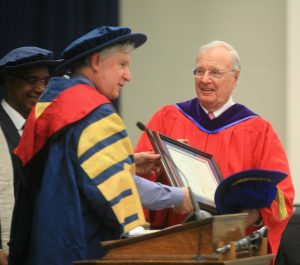 Paul Martin receives honorary degree