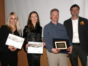 Lina Pilelienė and Viktorija Grigaliūnaitė,Vytautas Magnus University, Lithuania, and Christopher Malcolm and Doug Ramsey, Brandon University