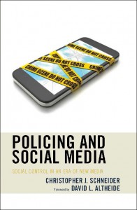 Policing and Social Media book cover