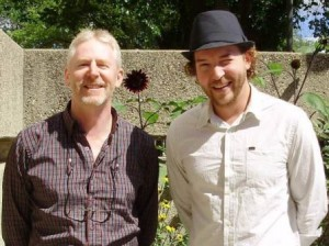 Dr. Terence McGonigle and Jeremy Timmer