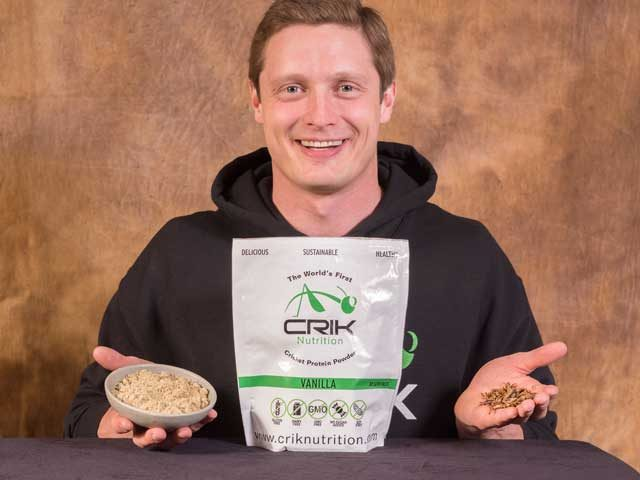 Alex with Crik Nutrition