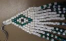 Beadwork and linear algebra