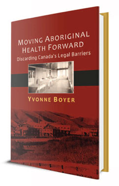 """Cover of the book """"Moving Aboriginal Health Forward"""""""