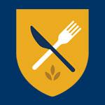 Crest Emblem of Food Services at Brandon University