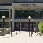 McMaster Hall Front Entrance